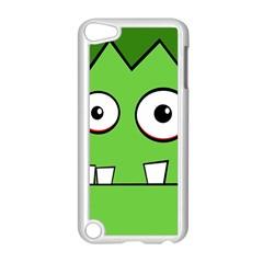 Halloween Frankenstein - green Apple iPod Touch 5 Case (White)