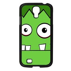 Halloween Frankenstein - green Samsung Galaxy S4 I9500/ I9505 Case (Black)