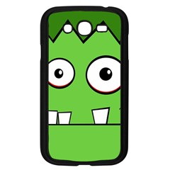 Halloween Frankenstein - green Samsung Galaxy Grand DUOS I9082 Case (Black)