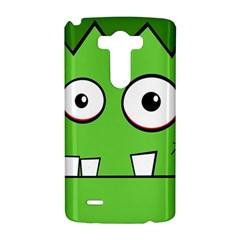 Halloween Frankenstein - green LG G3 Hardshell Case