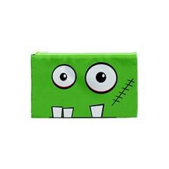 Halloween Frankenstein - green Cosmetic Bag (XS)
