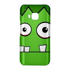 Halloween Frankenstein - green HTC One M9 Hardshell Case