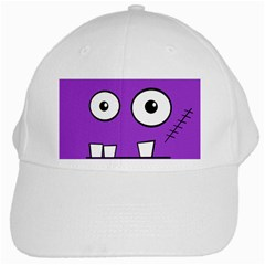 Halloween Frankenstein - Purple White Cap