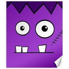 Halloween Frankenstein - Purple Canvas 20  x 24