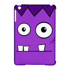 Halloween Frankenstein - Purple Apple iPad Mini Hardshell Case (Compatible with Smart Cover)