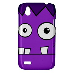 Halloween Frankenstein - Purple HTC Desire V (T328W) Hardshell Case