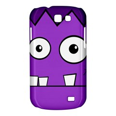 Halloween Frankenstein - Purple Samsung Galaxy Express I8730 Hardshell Case