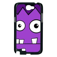 Halloween Frankenstein - Purple Samsung Galaxy Note 2 Case (Black)
