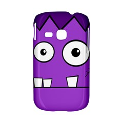 Halloween Frankenstein - Purple Samsung Galaxy S6310 Hardshell Case