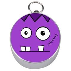 Halloween Frankenstein - Purple Silver Compasses