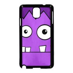 Halloween Frankenstein - Purple Samsung Galaxy Note 3 Neo Hardshell Case (Black)