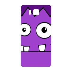 Halloween Frankenstein - Purple Samsung Galaxy Alpha Hardshell Back Case