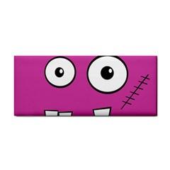 Halloween Frankenstein   Pink Hand Towel
