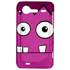 Halloween Frankenstein - pink HTC Incredible S Hardshell Case
