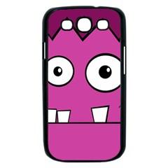 Halloween Frankenstein - pink Samsung Galaxy S III Case (Black)