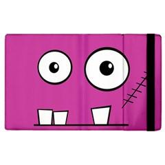 Halloween Frankenstein - pink Apple iPad 3/4 Flip Case