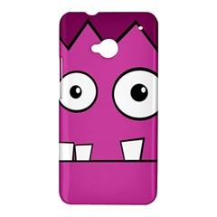Halloween Frankenstein - pink HTC One M7 Hardshell Case