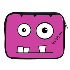 Halloween Frankenstein - pink Apple iPad 2/3/4 Zipper Cases
