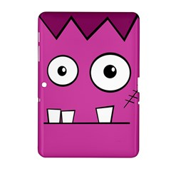 Halloween Frankenstein - pink Samsung Galaxy Tab 2 (10.1 ) P5100 Hardshell Case