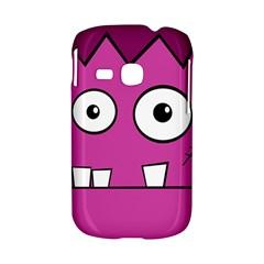 Halloween Frankenstein - pink Samsung Galaxy S6310 Hardshell Case
