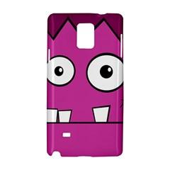 Halloween Frankenstein - pink Samsung Galaxy Note 4 Hardshell Case