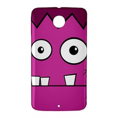Halloween Frankenstein - pink Nexus 6 Case (White)