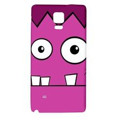 Halloween Frankenstein - pink Galaxy Note 4 Back Case