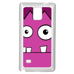 Halloween Frankenstein - pink Samsung Galaxy Note 4 Case (White)