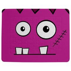 Halloween Frankenstein - pink Jigsaw Puzzle Photo Stand (Rectangular)