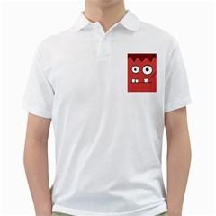 Halloween Frankenstein - Red Golf Shirts