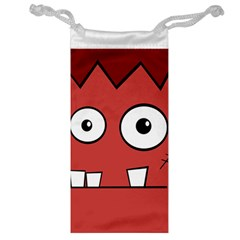 Halloween Frankenstein - Red Jewelry Bags
