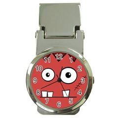 Halloween Frankenstein - Red Money Clip Watches