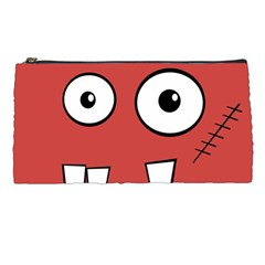 Halloween Frankenstein - Red Pencil Cases