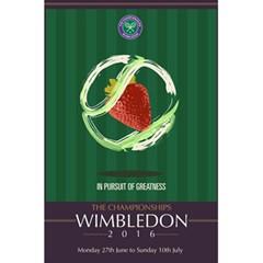 Wimbledon 2016  5.5  x 8.5  Notebooks