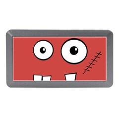 Halloween Frankenstein - Red Memory Card Reader (Mini)