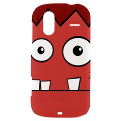 Halloween Frankenstein - Red HTC Amaze 4G Hardshell Case