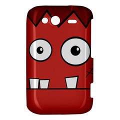 Halloween Frankenstein - Red HTC Wildfire S A510e Hardshell Case