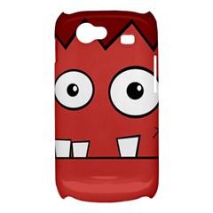 Halloween Frankenstein - Red Samsung Galaxy Nexus S i9020 Hardshell Case