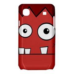 Halloween Frankenstein - Red Samsung Galaxy SL i9003 Hardshell Case