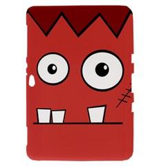 Halloween Frankenstein - Red Samsung Galaxy Tab 8.9  P7300 Hardshell Case