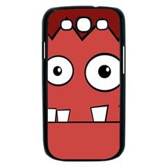 Halloween Frankenstein - Red Samsung Galaxy S III Case (Black)
