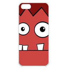 Halloween Frankenstein - Red Apple iPhone 5 Seamless Case (White)