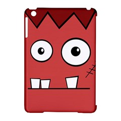 Halloween Frankenstein - Red Apple iPad Mini Hardshell Case (Compatible with Smart Cover)