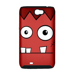 Halloween Frankenstein - Red Samsung Galaxy Note 2 Hardshell Case (PC+Silicone)