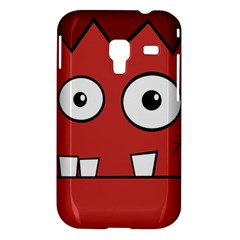 Halloween Frankenstein - Red Samsung Galaxy Ace Plus S7500 Hardshell Case