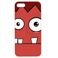 Halloween Frankenstein - Red Apple iPhone 5 Hardshell Case with Stand