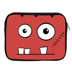 Halloween Frankenstein - Red Apple iPad 2/3/4 Zipper Cases