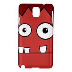 Halloween Frankenstein - Red Samsung Galaxy Note 3 N9005 Hardshell Case