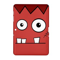Halloween Frankenstein - Red Samsung Galaxy Tab 2 (10.1 ) P5100 Hardshell Case