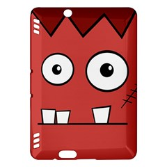 Halloween Frankenstein - Red Kindle Fire HDX Hardshell Case